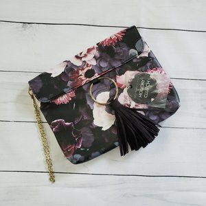 Ion Color Brilliance Floral Holiday Clutch Bag
